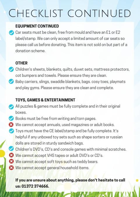 Donation Checklist (2)