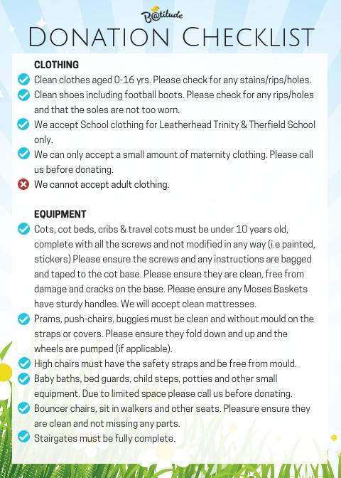 Donation Checklist (3)